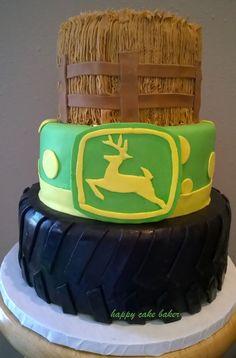 John Deere cake Cakes Pinterest John deere John deere cakes