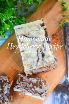 Homemade Headcheese Recipe http://www.theelliotthomestead.com