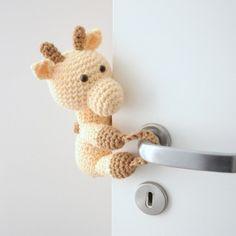 Tranca-Portas Girafa Zefa – Ideias de Mamãe
