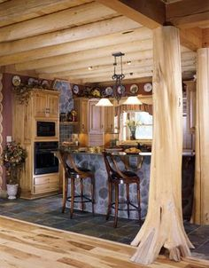 Columbia Station, Ohio #10686 Log Home | Real Log Homes since 1963 | Custom Log Homes | Log Home Floor Plans | Log Cabin Kits