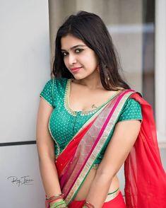 Beautiful Girl Indian, Beautiful Girl Image, Most Beautiful Indian Actress, Beautiful Saree, Beautiful Women, Latest Saree Blouse, Saree Blouse Designs, Lehenga Blouse, Saree Dress