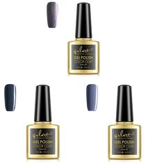 GELART UV Gel Nail Polish Grey Color Set 3 Pcs * Read more reviews of the product by visiting the link on the image.