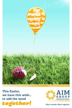Happy Spring from AIM Group International!  Find more here: http://www.aimgroupinternational.com