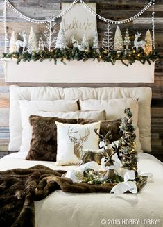 Glamour and sophistication meet cozy cabin charm in this swoon-worthy Christmas collection.