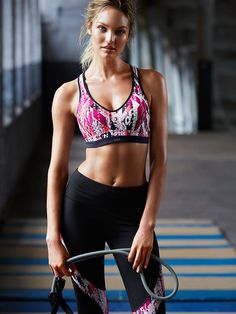 f84f68de3f6 Candice Swanepoel for VSX Victoria s Secret models really motivate me to  workout and keep in shape. In fact