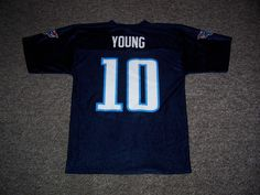 Vince Young Tennessee Titans NFL Replica Jersey-Medium #TennesseeTitans