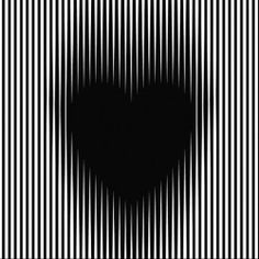 'Trance Gothic Heart' Canvas Print by Gianni A. Sarcone A nice gift by visual artist Gianni A. Kinetic Art: The dark heart looks like fluttering, pulsating and/or expanding (check… It's a . Op Art, Amazing Optical Illusions, Foto 3d, Heart Canvas, Kinetic Art, Visual Effects, Homescreen, Overlays, Canvas Prints