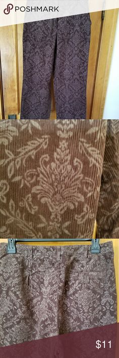 Evan Picone cords These brown and tan cords are like new. Evan Picone Pants Trousers