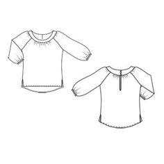 386f2cc815e Блуза. Блуза - выкройка № 138 из журнала 8 2011 Burda – выкройки блузок на  ...