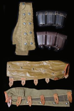 Action covers for Mauser K98k rifle.