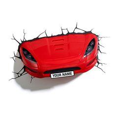 3DFX Kinkiet Dekoracyjny LED Sports Car 15181 : Oświetlenie dziecięce : Sklep internetowy Elektromag Lighting #kids