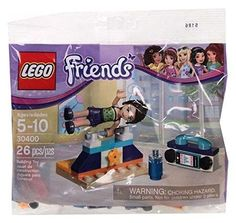Lego Friends Gymnastic Set #30400 - 26 Pieces - Bagged