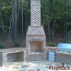 outdoor fireplace..maybe not a room exactly but still want it!!