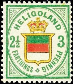Old German States Heligoland, Michel 17b. 2 ½ F in perfect condition mint never hinged, expertized Lemberger BPP, Michel 360.-