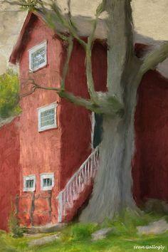 Studio of J. Alden Weir, Impressionist painter at Weir Farm