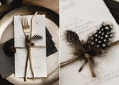 menuekarte-mit-federn invitations purple Bohemian Chic in Naturfarben Safari Wedding, Art Deco Wedding, Wedding Themes, Boho Wedding, Rustic Wedding, Dream Wedding, Wedding Decorations, Simple Wedding Invitations, Wedding Stationary