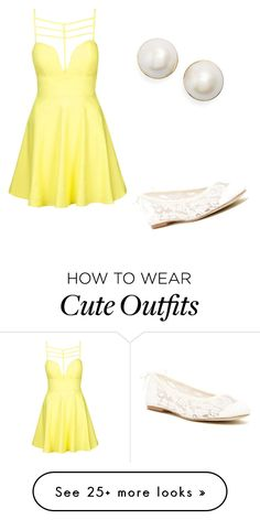 """Cute summer outfit"" by mercy11 on Polyvore featuring Topshop, Soludos and Kate Spade"