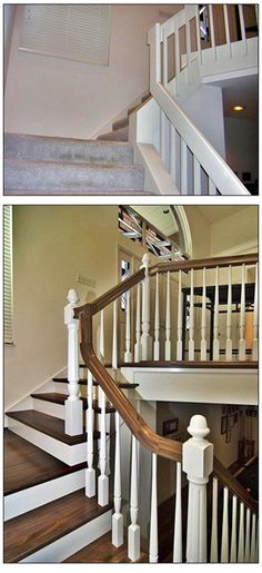 Remodel on stairs - good idea for our stairs