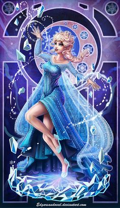 Elsa Frozen by EdgarSandoval.deviantart.com on @DeviantArt