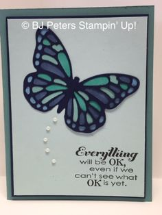 BJ's Stampin' Spot: Beautiful Butterfly Thinlits!