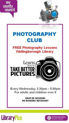 New time for Wellingborough Library's Photography Club