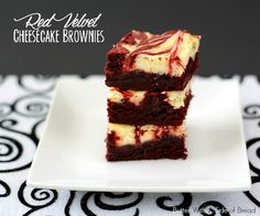 Red Velvet Cheesecake Brownies Recipe Desserts with large eggs, butter, granulated sugar, vanilla extract, unsweetened cocoa powder, salt, red food coloring, white vinegar, all-purpose flour, mini chocolate chips, cream cheese, granulated sugar, egg yolks, vanilla extract