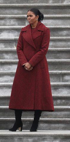 #MichelleObama #2017Inauguration Day