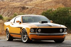 1969 Ford Mustang Boss 302 Fastback
