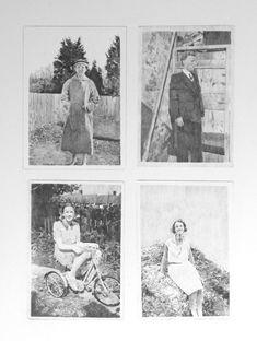 Four found photographs Chris Shaw Hughes Photographs, My Arts, Polaroid Film, Photos