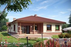 Village House Design, Kerala House Design, Bungalow House Design, Village Houses, Small House Design, Compact House, Kerala Houses, Spanish Style Homes, House Landscape
