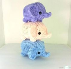 The Cutest Amigurumi — Easy Patterns and Tutorials - Craftfoxes ╭⊰✿Teresa Restegui http://www.pinterest.com/teretegui/✿⊱╮
