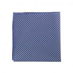 Morocco Blue Geometric pocket square from Lord Wallington #OOTD