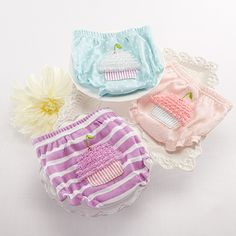 Baby Cakes Cupcake Diaper Covers from Baby Aspen