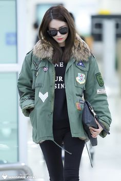 SNSD Yoona Airport Fashion 160112 2016