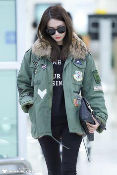 SNSD Yoona Airport Fashion 160112 2016