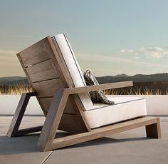 Have a Teak Lounge Chair - Dream Back Yard - Chair Design At Home Furniture Store, Deck Furniture, Woodworking Furniture, Wooden Furniture, Furniture Projects, Furniture Plans, Furniture Movers, Cheap Furniture, Antique Furniture