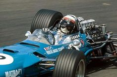 Zandvoort, June 1968: Jackie Stewart moved to Matra for the 1968 season.