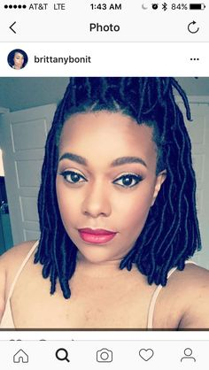 Locs are terribly time consuming but so cool youll want to faux locs short more solutioingenieria Image collections