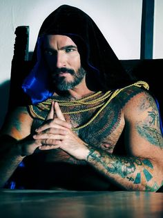 naked male wiccan tattoos