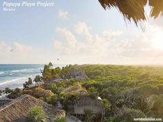 Paradise has a name - #9 Papaya Playa Project! Find out more about it on worldhotelbook.com!