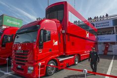 F1 Team Motorhomes - Ferrari