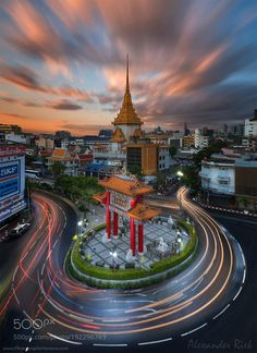 Colors of Bangkok by alexriek #architecture #building #architexture #city #buildings #skyscraper #urban #design #minimal #cities #town #street #art #arts #architecturelovers #abstract #photooftheday #amazing #picoftheday