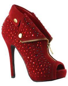 Women's 5 Inch Heel Ankle Boots