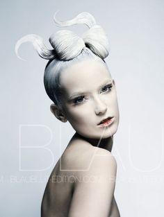 Photographers: Abrar & Hoving / Blaublut Edition, Model: Laura Z.