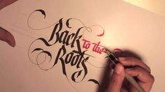 Calligraphy By Peyi - Parallel Pen Pilot 6 mm and 3,8mm.