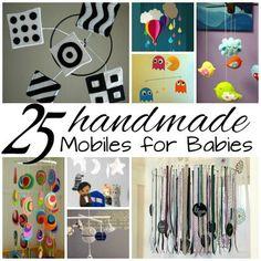 25 Homemade Mobiles for Babies