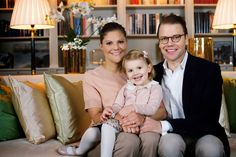 MyRoyals: Swedish Royal Family released new photos of the Crown Princess Family, December 5, 2014-Crown Princess Victoria, Princess Estelle and Prince Daniel