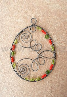 Wire Crafts, Metal Crafts, Decor Crafts, Fun Crafts, Crafts For Kids, Arts And Crafts, Kids Jewelry, Jewelry Making, Copper Wire Art