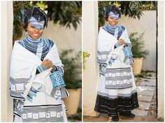 Tobani & Nizi's Traditional African Wedding photos as well as their White Wedding. The wedding took place in East London and McClear, South Africa African Traditional Wedding, African Traditional Dresses, Traditional Wedding Dresses, Traditional Outfits, Traditional Weddings, African Wedding Attire, African Attire, African Wear, African Dress
