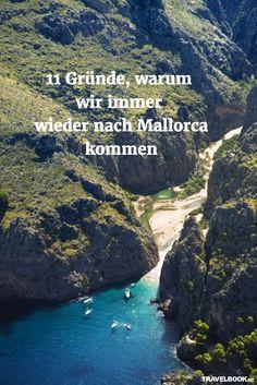 """Mallorca ist und bleibt die Ferieninsel Nummer 1 der Deutschen. Von den insgesamt etwa 14 Millionen Besuchern, die Malle jedes Jahr hat, kommen über 4 Millionen aus Deutschland – mehr als aus keiner anderen Nation der Welt. Viele davon sind Wiederholungstäter, reisen jedes Jahr wieder auf die Baleareninsel. Aber was macht sie eigentlich aus, die """"Malle-Falle"""", der sich kaum jemand entziehen kann? TRAVELBOOK kennt elf gute Gründe."""